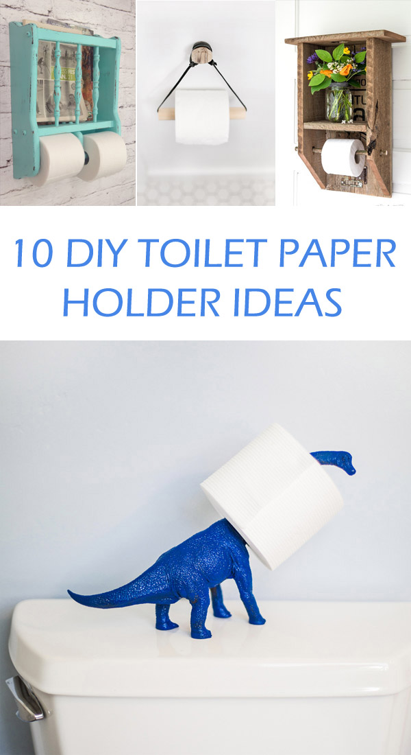 Wonderful Diy Toilet Paper Holder Design Ideas