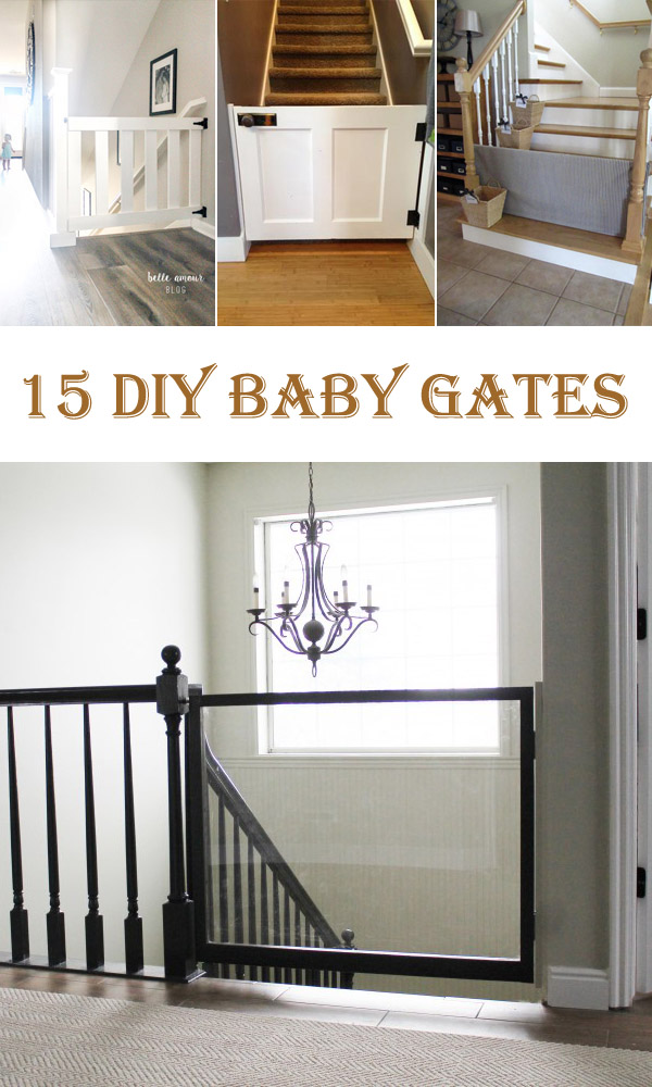 15 Awesome DIY Baby Gates