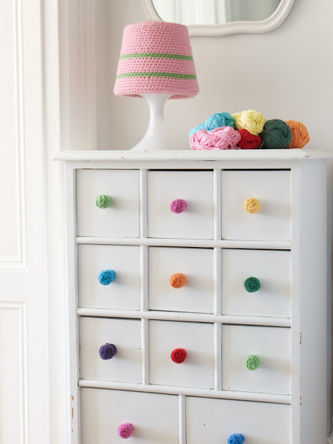 Crocheted Drawer Pulls