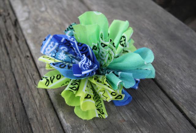 DIY Bandana Flower