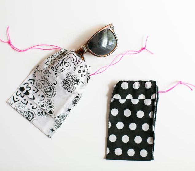 DIY Bandana Sunglasses Case