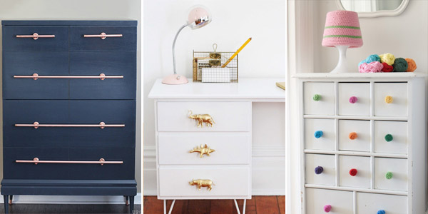 DIY Drawer Pulls You Can Make Yourself