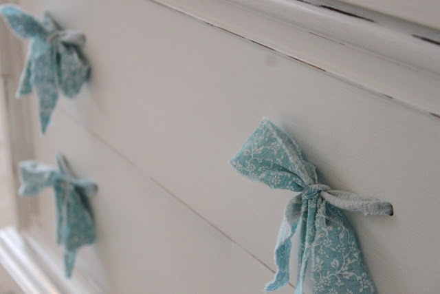 DIY Fabric Drawer Pulls