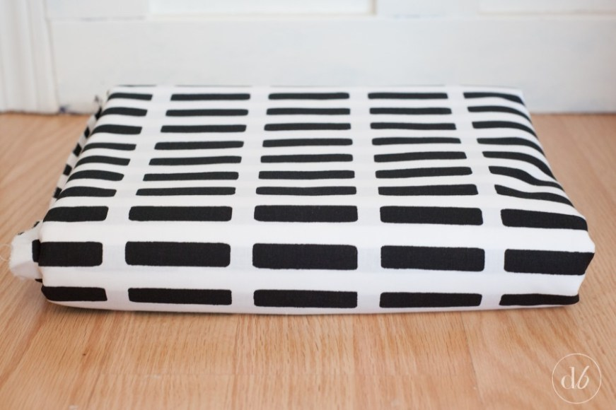 DIY Fabric Floor Pillow