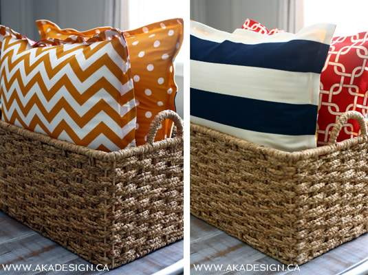 DIY No Sew Floor Pillows