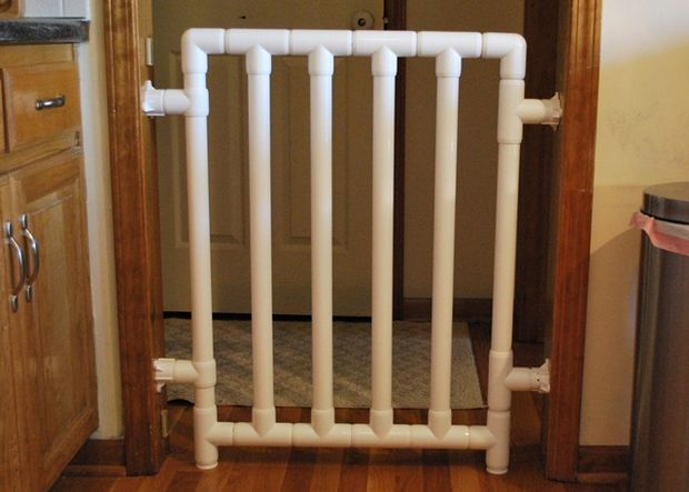 DIY Safe and Strong Baby Gate