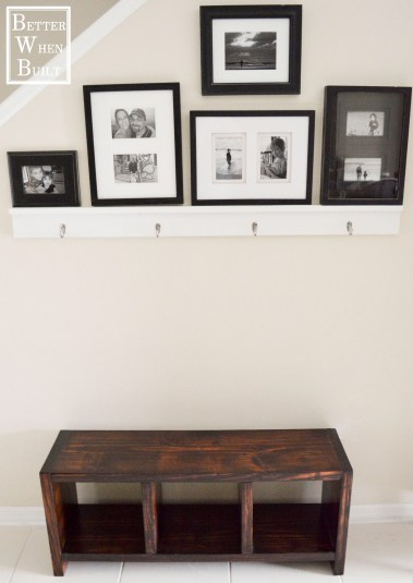 DIY Simple Entryway Bench