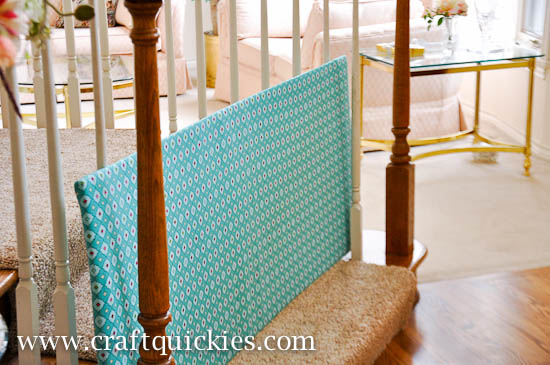 DIY Slide Through Baby Gate