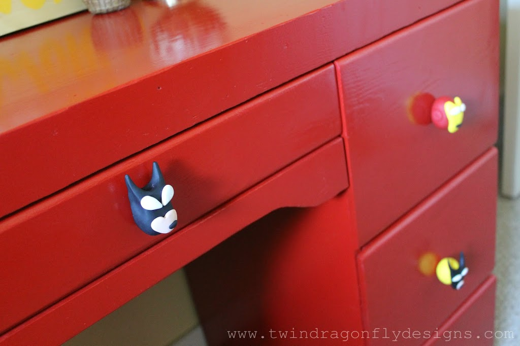 DIY Superhero Drawer Pulls