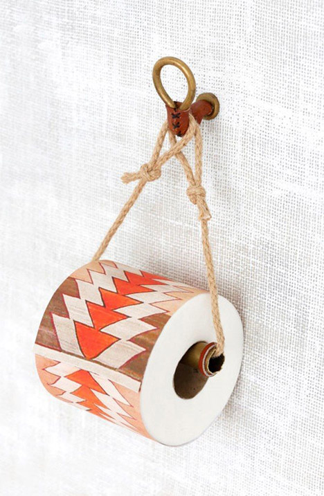 Easy DIY Toilet Paper Holder