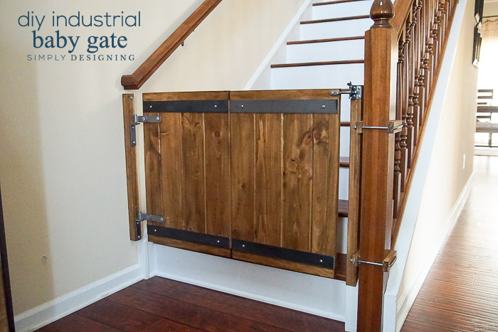 Industrial DIY Baby Gate