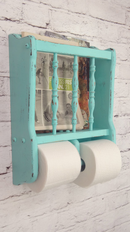 Shabby Chic Toilet Paper Holder