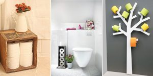21 Best Toilet Paper Storage Ideas