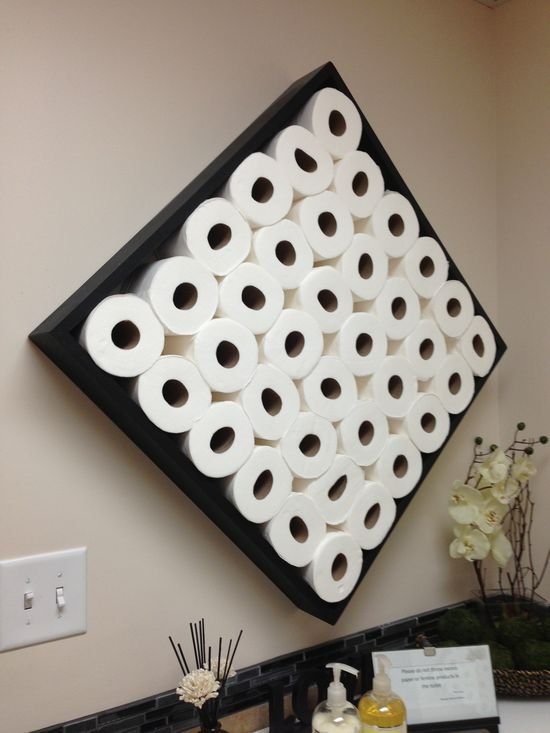 Unique Toilet Paper Shelf