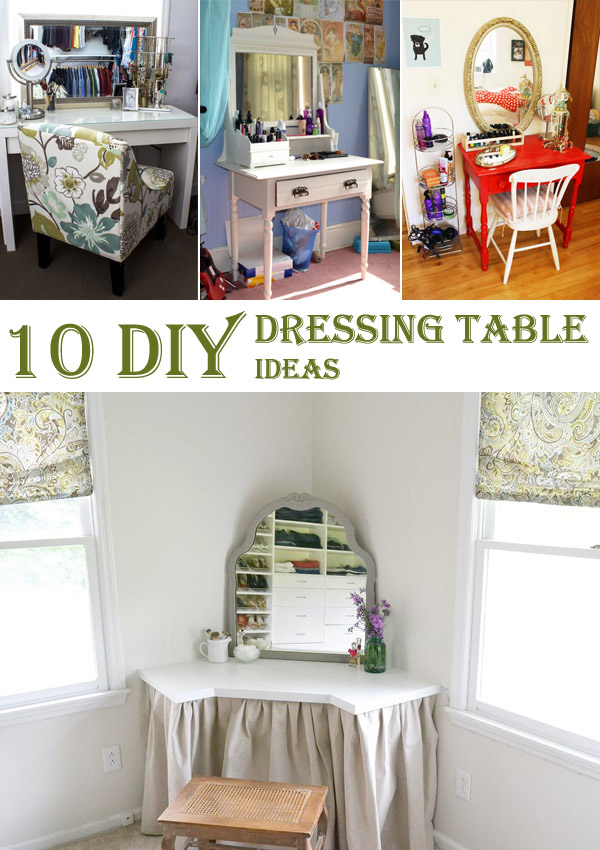 10 amazing diy dressing table ideas cool diys 10 amazing diy dressing table ideas solutioingenieria Image collections