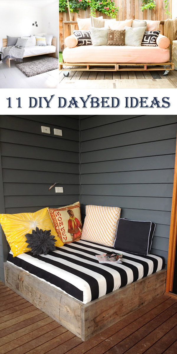 11 Amazing DIY Daybed Ideas