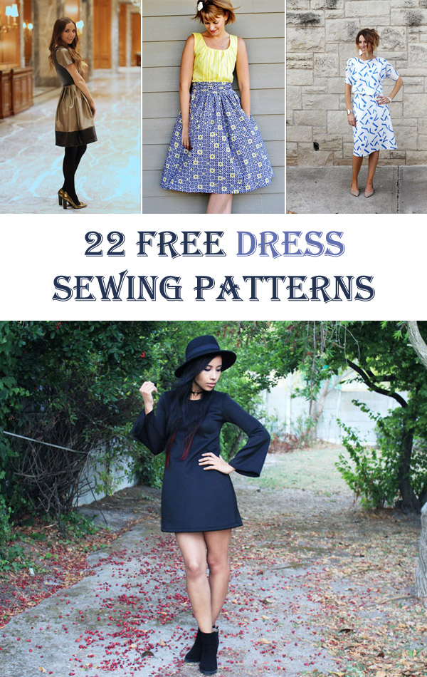 22 Free Dress Sewing Patterns