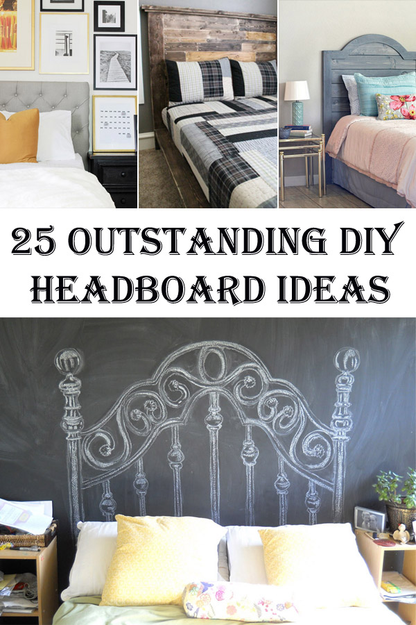 25 Outstanding DIY Headboard Ideas