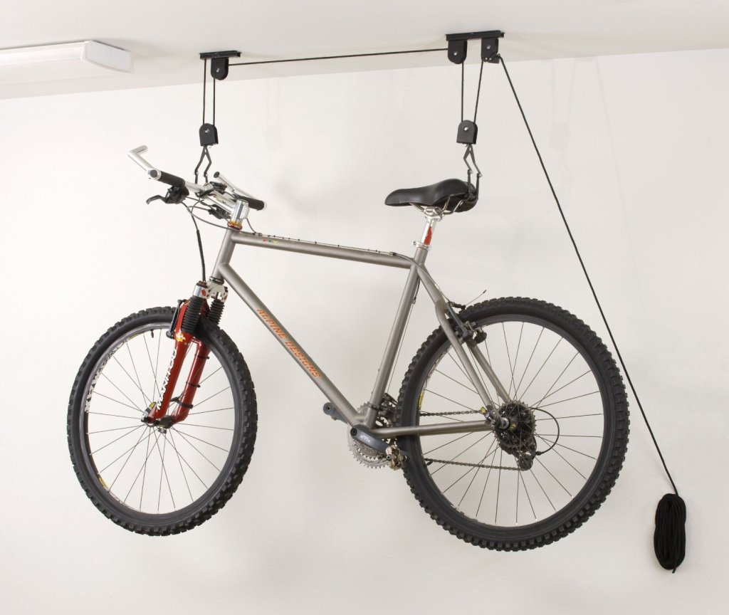 Ceiling-Mounted Bike
