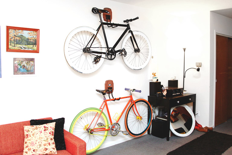 Custom DIY Bike Storage