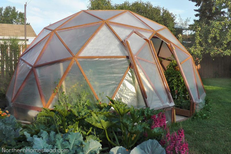 DIY A Geodome Greenhouse