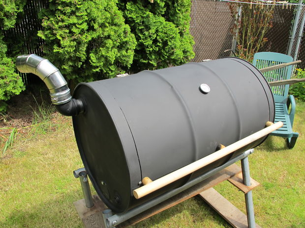DIY BBQ Barrel