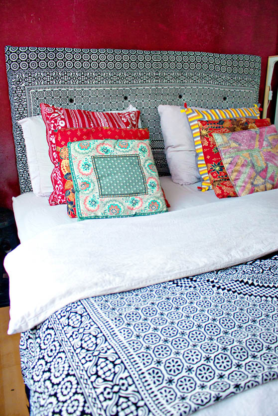 DIY Canvas Headboard