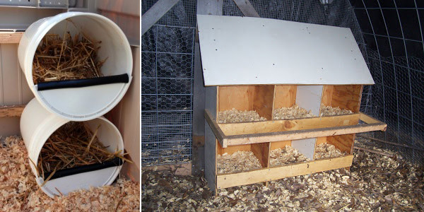 DIY Chicken Nesting Box Plans and Ideas