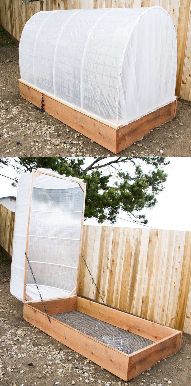 DIY Covered Greenhouse