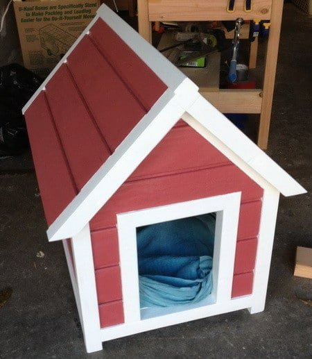 DIY Dog House From Remove & Replace