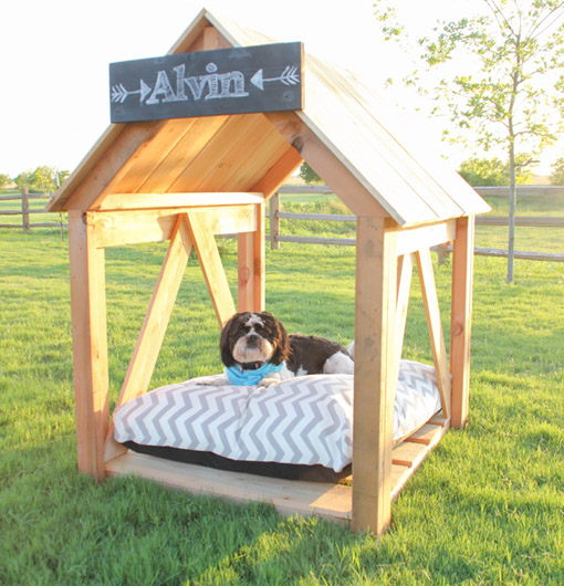 DIY Dog House From Shanty 2 Chic