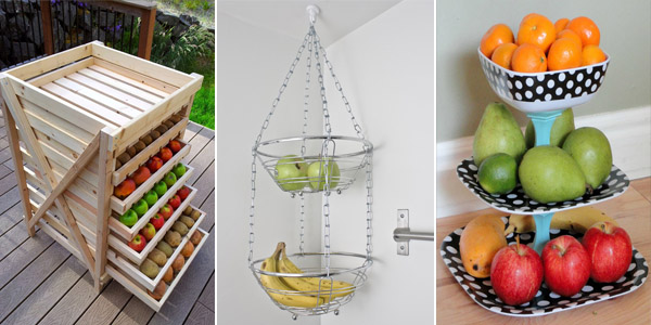 DIY Fruit And Veggie Storage Ideas