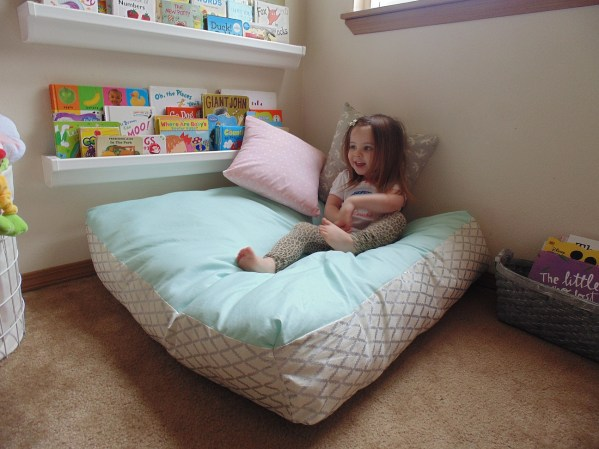DIY Huge Floor Pillow