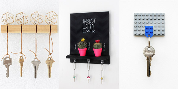 DIY Key Holders Ideas