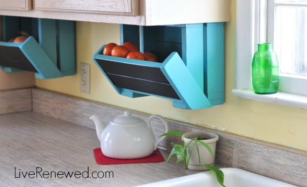 DIY Kitchen Storage Boxes