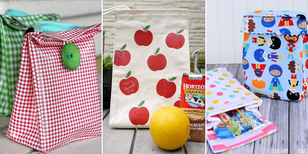 DIY Lunch Boxes and Bags