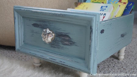 DIY Mini Bookcase