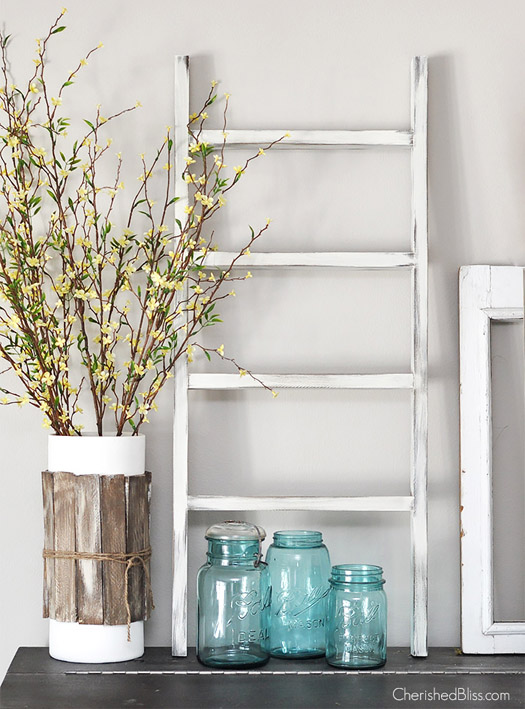 DIY Mini Wooden Ladder