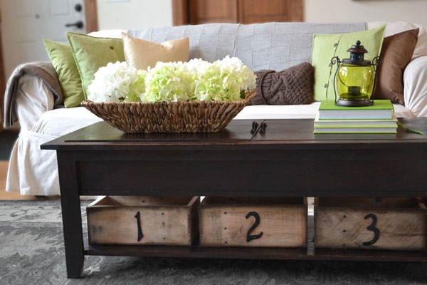 DIY Pallet Storage Boxes