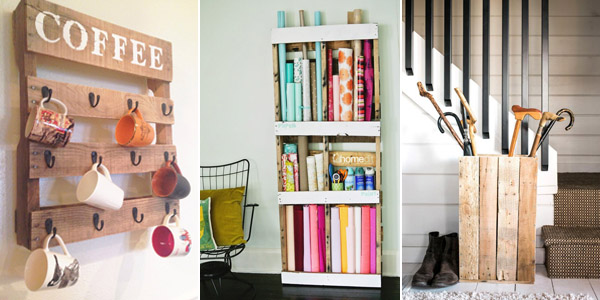 DIY Pallet Storage Ideas