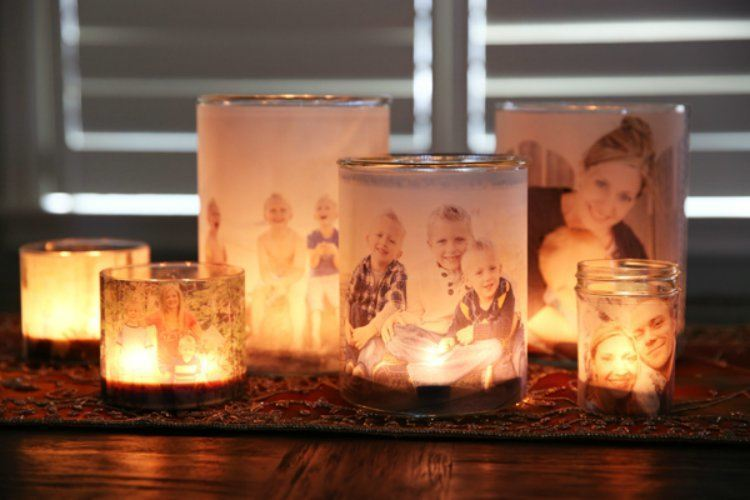 DIY Photo Luminary