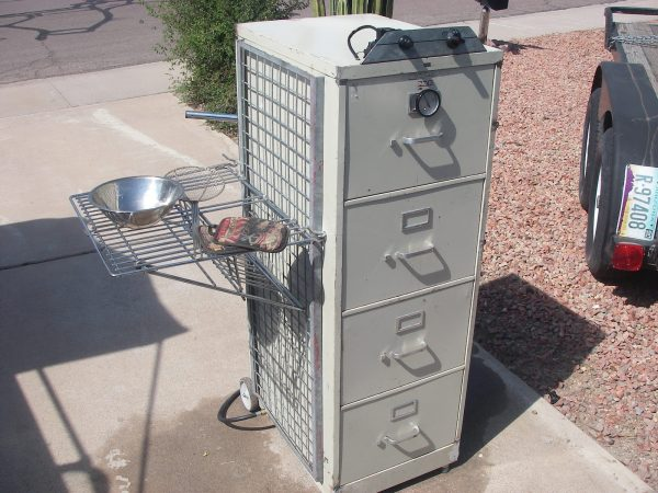 DIY Recycled Smoker
