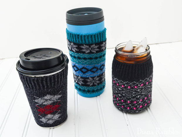 DIY Sock Coffee Cozy