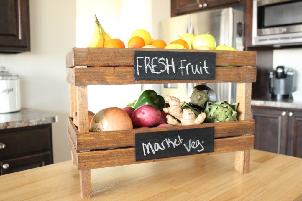 Bon 2. DIY Stackable Fruit Crates