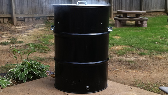 DIY Ugly Drum Smoker