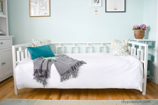 DIY West Elm Inspired Day Bed