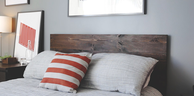 DIY Wood Headboard for Only $86