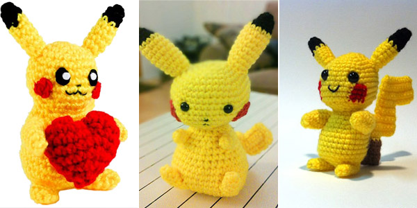 Free Pikachu Crochet Patterns