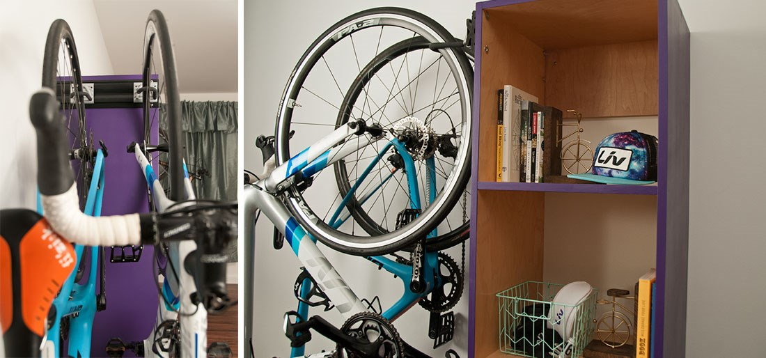 Indoor Storage Unit for Multiple Bikes