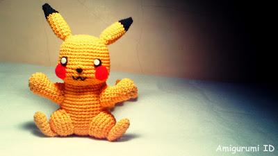 Pikachu from AmigurumiID